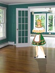 Beer Maid Life Size Cutout