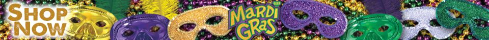 Mardi Gras Decorations!